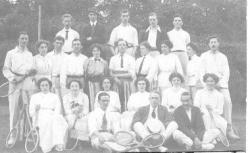 Boston Gardens Tennis Club 1912