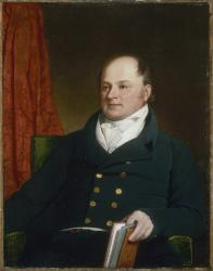 John Quincy Adams, age 49, 1816 by Charles Robert Leslie