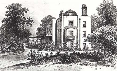 Elm Grove, home of the Perceval family